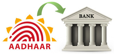 Link your aadhaar card with your Bank account